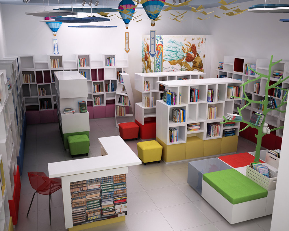 The children's bookshop in the PortCity trade center