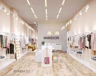 Design for women's clothing store