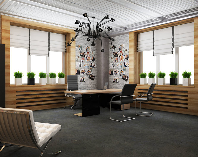 Interior design of headquarters ModnaCasta