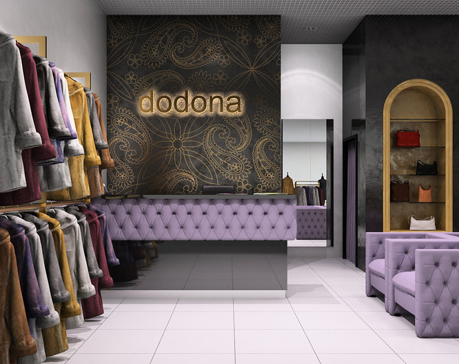 Dodona Boutique interior design project