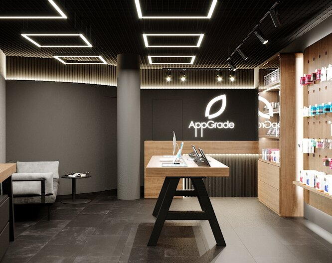 "Store of gadgets and accessories ""AppGrade""."